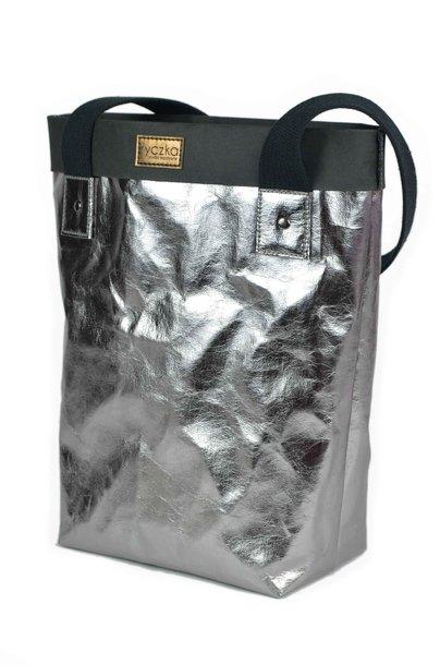 Shopperka  BIG BAG Dark Silver (1)