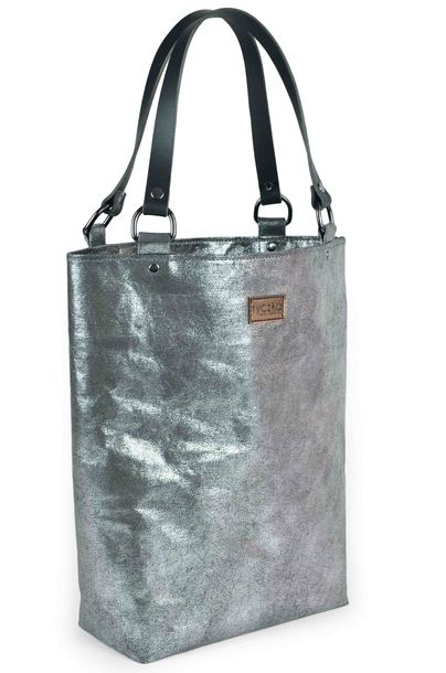 Shopperka Elegance BIG BAG Silver_marble (1)