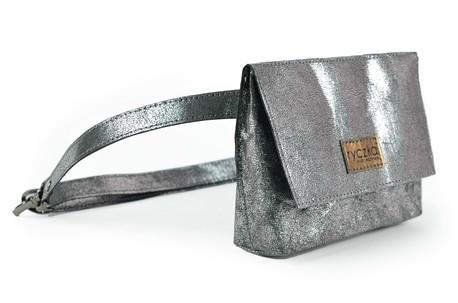 Ekologiczna biodrówka Hip BAG Silver_marble (1)